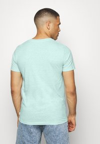 TOM TAILOR DENIM - STRUCTURED  - Print T-shirt - small blue - 2
