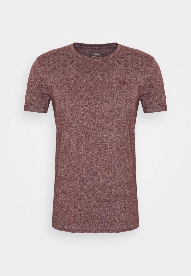 T-shirt basic - decadent bordeaux