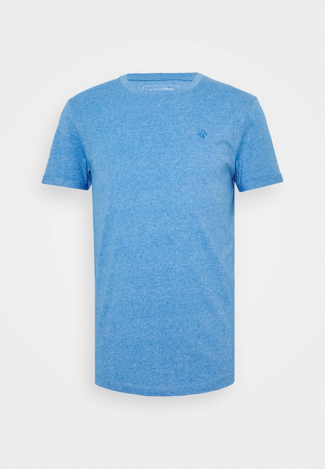 STRUCTURED WITH PRINT - T-Shirt basic - water sport blue