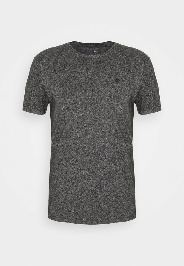 STRUCTURED WITH PRINT - T-shirt basic - black