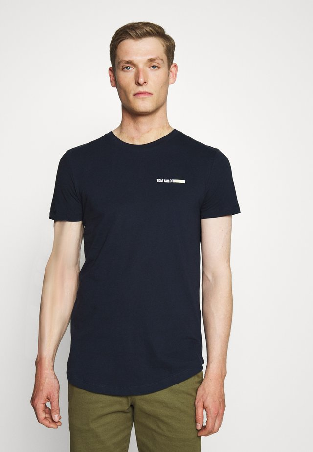 Basic T-shirt - sky captain blue