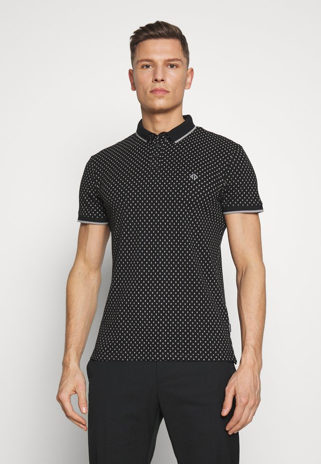 Poloshirt - black/grey