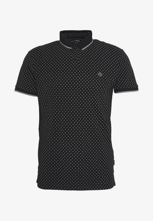 Polo shirt - black/grey