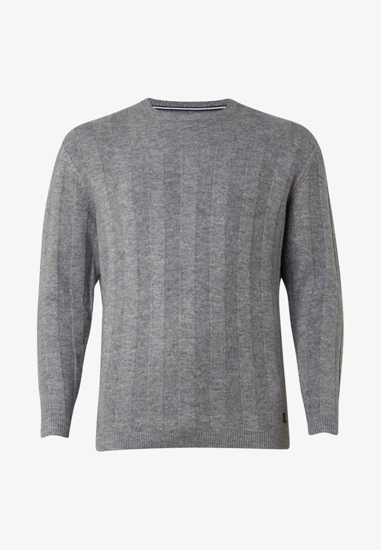 TOM TAILOR DENIM - Strickpullover - mottled grey