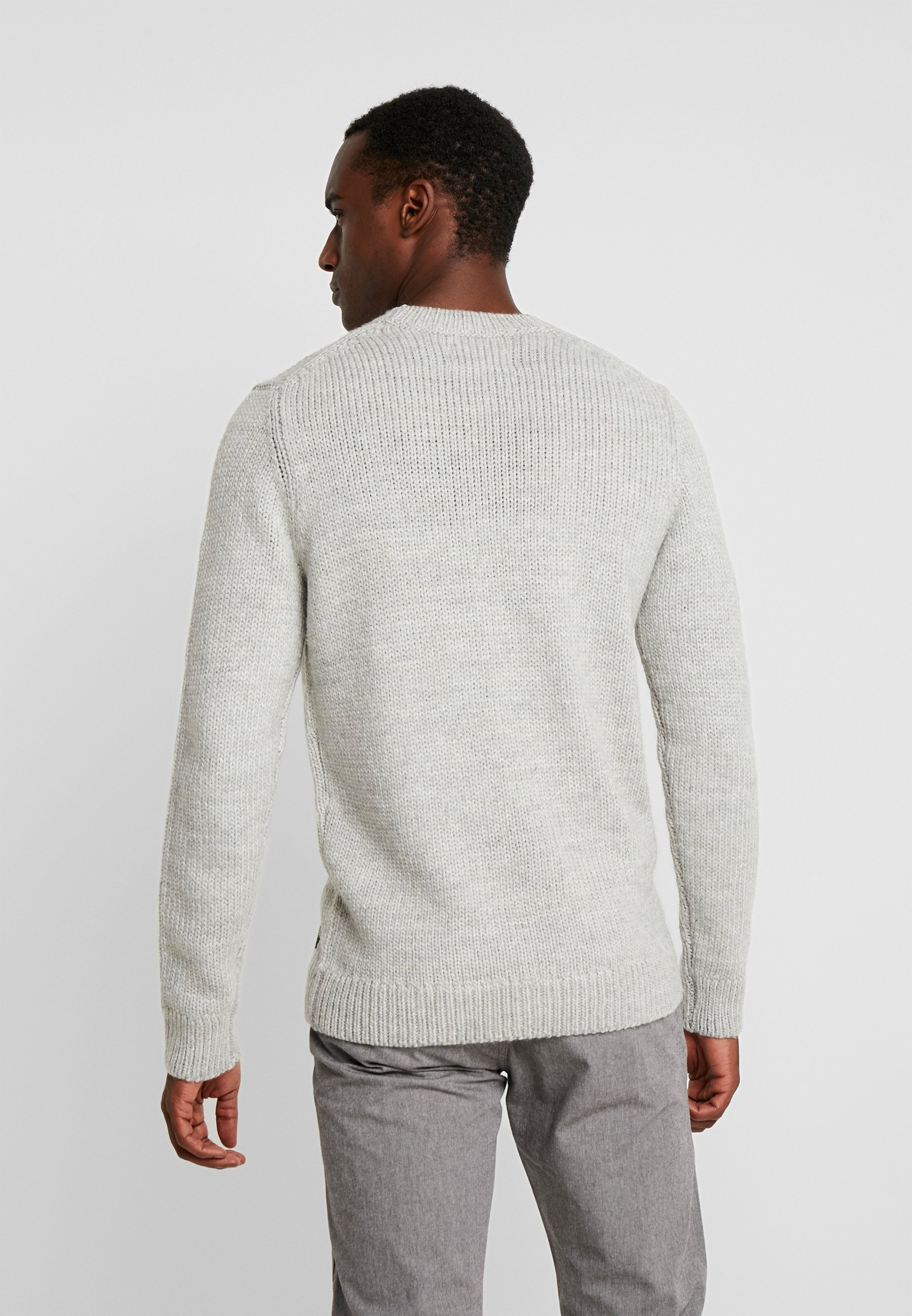 Crewneck Melange Tailor Denim Grey Tom SweaterMaglione I7gv6Yybf