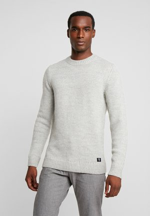 CREWNECK SWEATER - Strikkegenser - grey melange