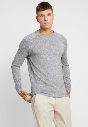 MOULINE RAGLAN - Stickad tröja - grey grindle melange