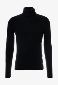 TOM TAILOR DENIM - BASIC ROLLNECK - Jumper - black - 3