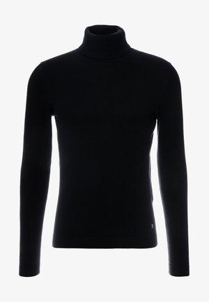BASIC ROLLNECK - Sweter - black