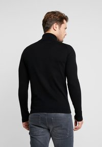 TOM TAILOR DENIM - BASIC ROLLNECK - Jumper - black - 2