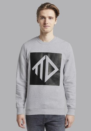 Sweatshirt - light stone grey