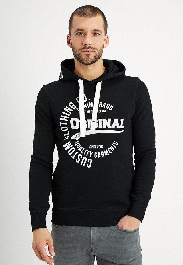 Jersey con capucha - black/grey