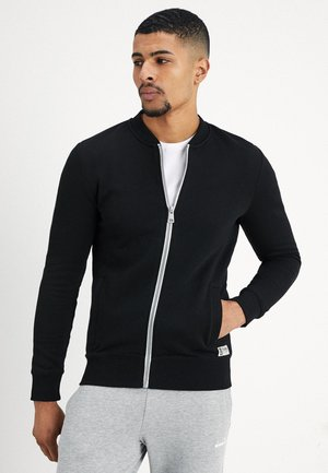 JACKET - veste en sweat zippée - black