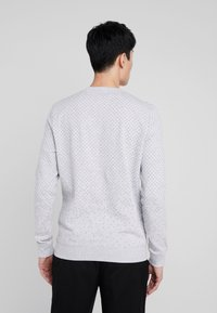 TOM TAILOR DENIM - MINIMAL CREWNECK - Sweatshirt - light stone grey melange - 2