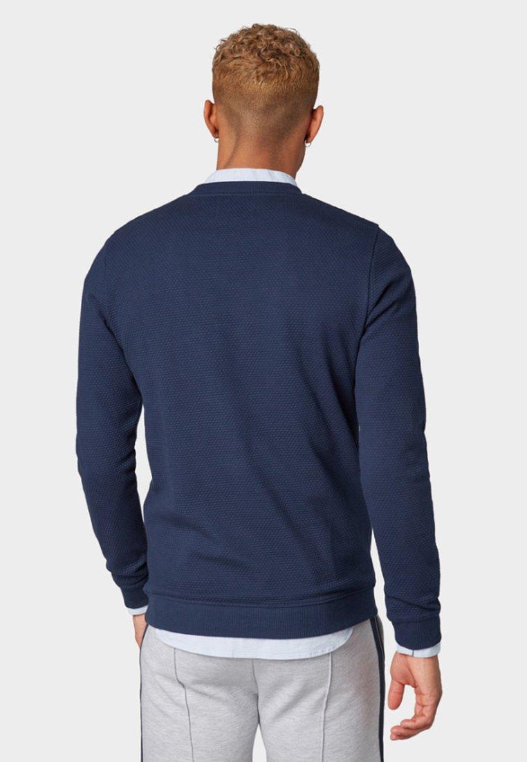 Tom Tailor Tailor Denim Tom SweatshirtBlue Denim SMUzLGpqV