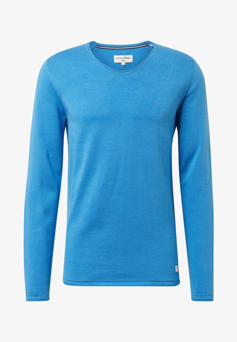 TOM TAILOR DENIM - Pullover - blue