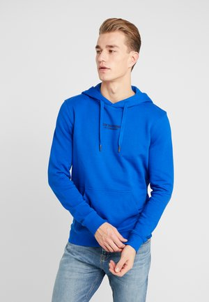HOODIE CHESTPRINT - Huppari - bright king blue