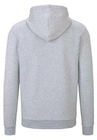 TOM TAILOR DENIM - Hoodie - light stone grey melange - 1