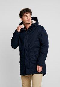 TOM TAILOR DENIM - SOFT - Winter coat - sky captain blue - 0