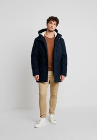 TOM TAILOR DENIM - SOFT - Winter coat - sky captain blue - 1