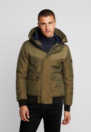 Winter jacket - olive night green