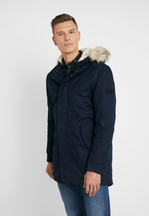 PEACHED WINTER PARKA - Parka - sky captain blue