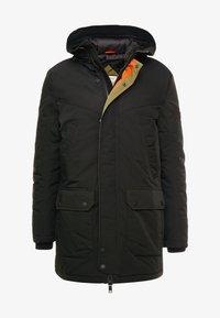 TOM TAILOR DENIM - Zimní kabát - black - 4