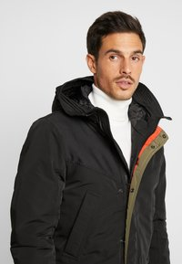 TOM TAILOR DENIM - Zimní kabát - black - 3