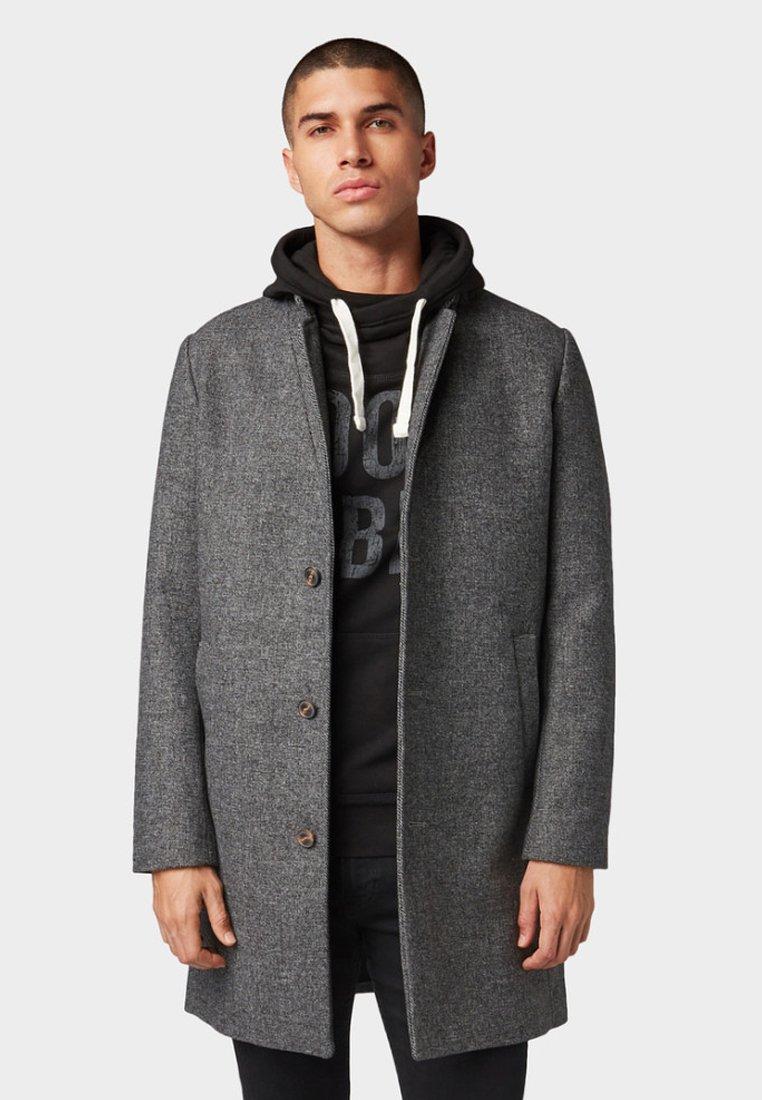 TOM TAILOR DENIM - Classic coat - grey melange