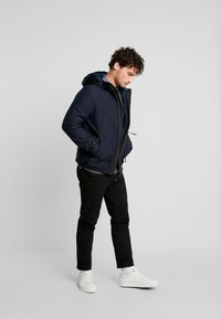 TOM TAILOR DENIM - TECHNICAL JACKET - Vinterjacka - sky captain blue - 1