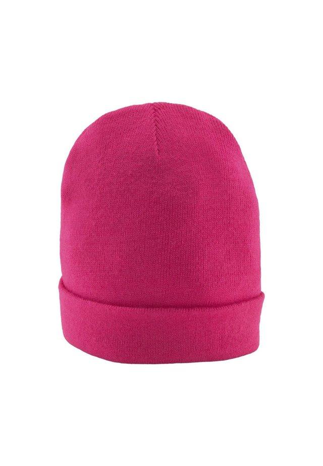 Mütze - bright flashy pink