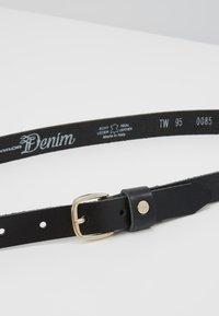 TOM TAILOR DENIM - TF0085L03 - Ceinture - black - 4
