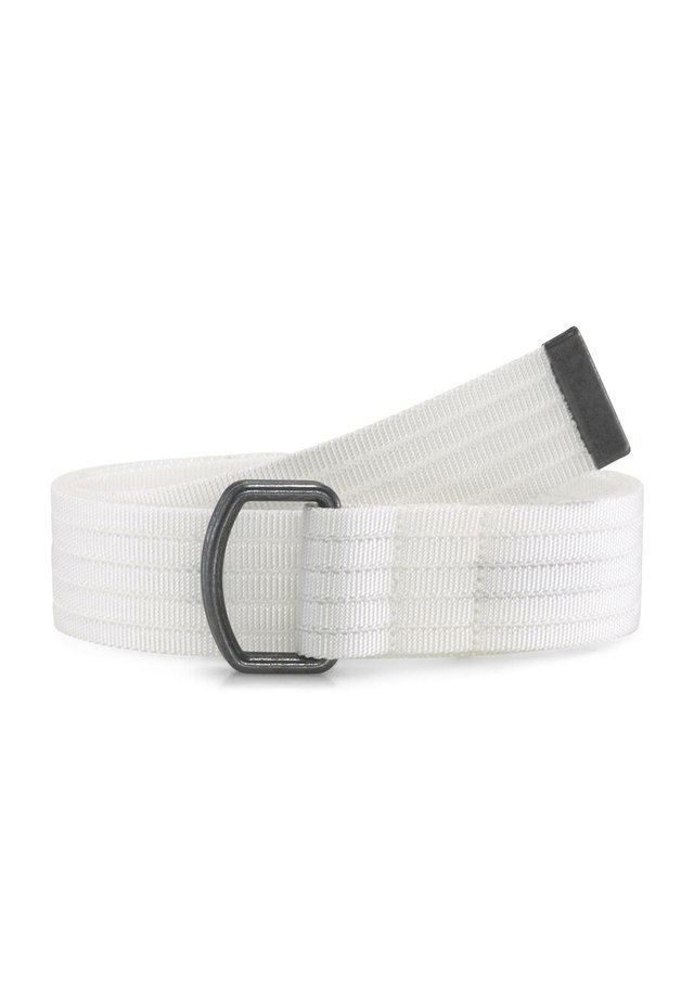 MIT ÖSEN - Belt - white