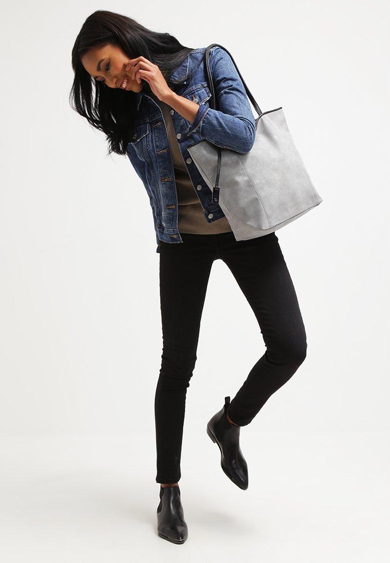 TOM TAILOR DENIM - MILA - Bolso shopping - grey