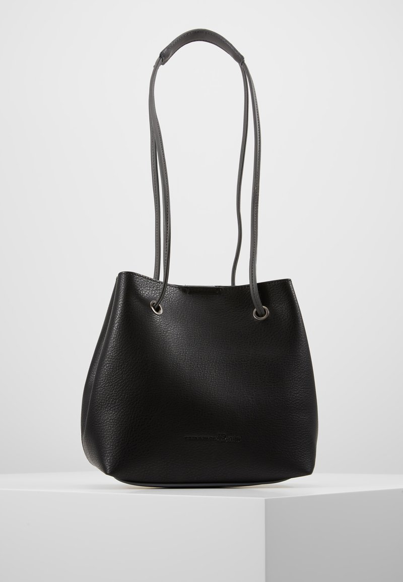 TOM TAILOR DENIM - AURELIE DRAWSTRINGBAG - Håndtasker - black