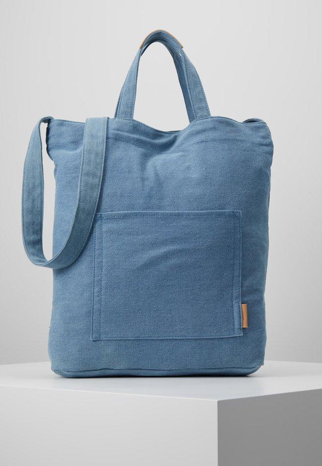 PALMA - Tote bag - mid blue