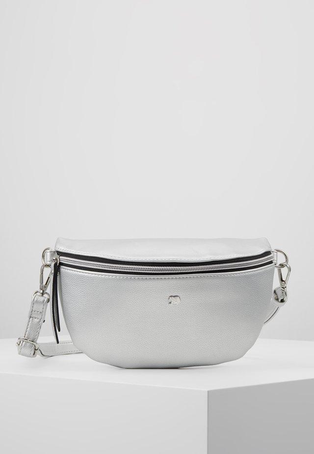 ROSIE - Saszetka nerka - silver
