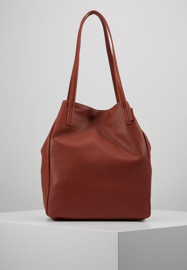 ARONA - Shopping Bag - cognac