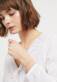 TomShot - BRACLET CUBES - Armband - rosegold-coloured - 1