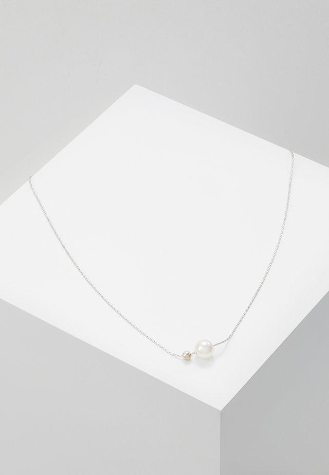 Collier - silver-coloured/white