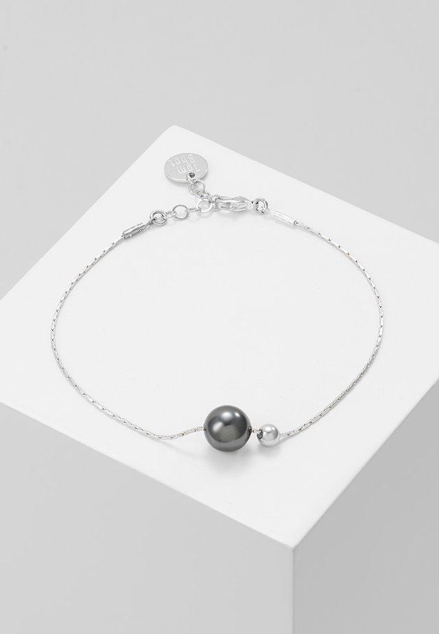 Náramek - silver-coloured/black