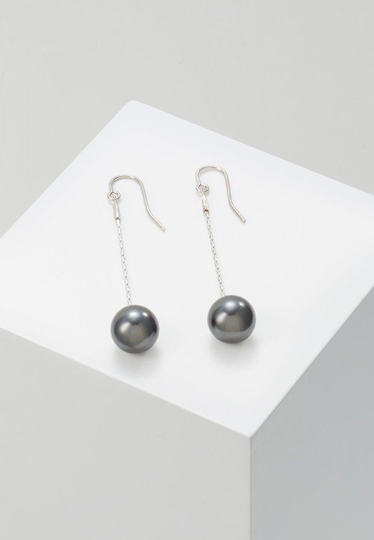 TomShot - Náušnice - silver-coloured/black