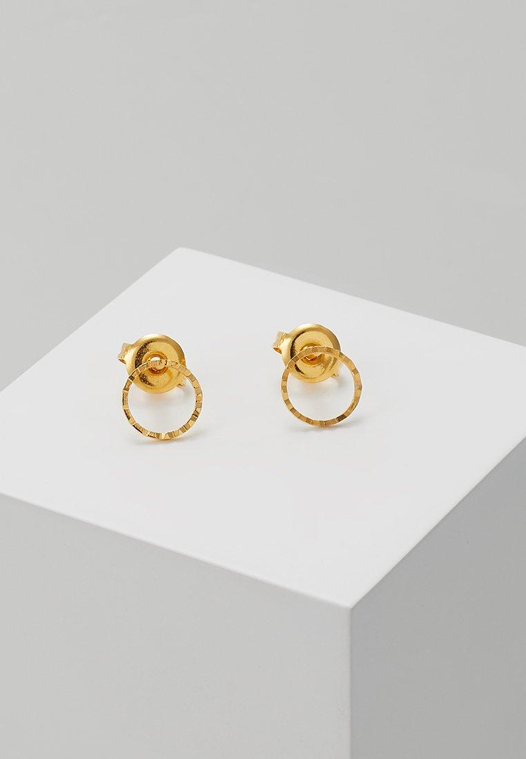 TomShot - Earrings - gold-coloured