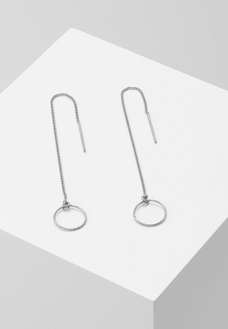 TomShot - EARRINGS - Earrings - silver-coloured