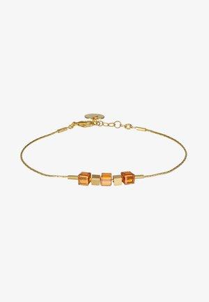 Bracelet - gold-coloured/brown