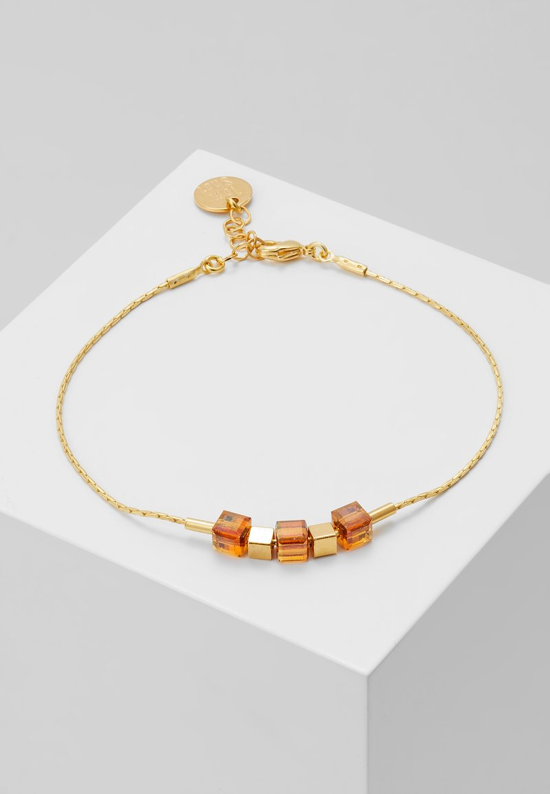 TomShot - Armband - gold-coloured/brown