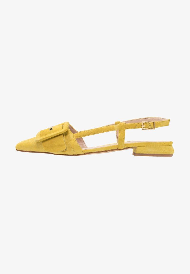 Tosca Blu - LINEA DOMINA - Slingback ballet pumps - giallo