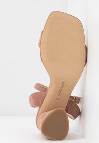 Tosca Blu - MAIORCA - Korolliset sandaalit - malva - 6