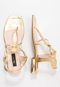 Tosca Blu - CRETA - T-bar sandals - platino - 3