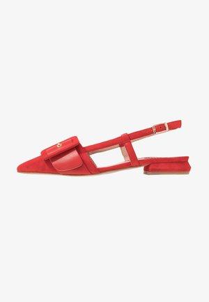 BORA BORA - Sandalen - rosso